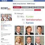 Fallbeispiel Facebook Recruiting, Personalmarketing, REWE Karriere