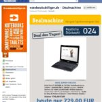 Fallbeispiel Facebook Marketing, Verkaufsförderung, Notebooksbilliger.de